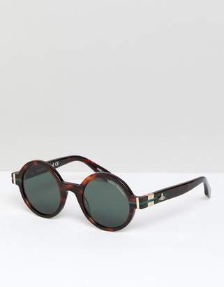 Vivienne Westwood Anglomania Round Sunglasses