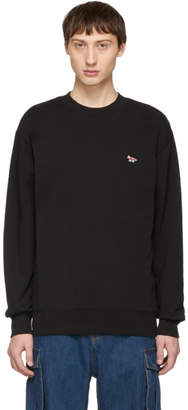 MAISON KITSUNÉ SSENSE Exclusive Black Fox Sweatshirt