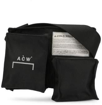 A-Cold-Wall* foldover top shoulder bag