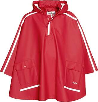 Playshoes Poncho Especially for Satchel Baby Girl's Rain Coat,10 Years