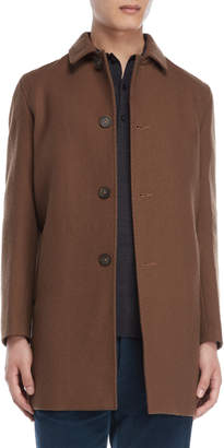 Altea Chester Wool Ribbed Coat