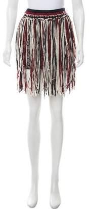 Chanel Paris-Dallas Fringe Skirt