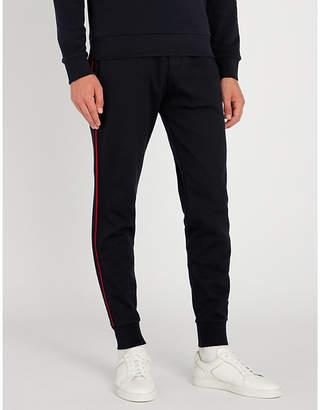 Ralph Lauren Purple Label Side-striped jersey jogging bottoms