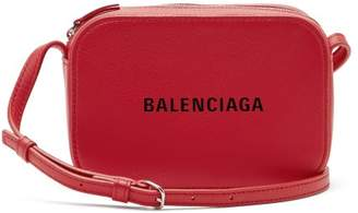 Balenciaga Everyday Camera Xs Cross Body Bag - Womens - Red