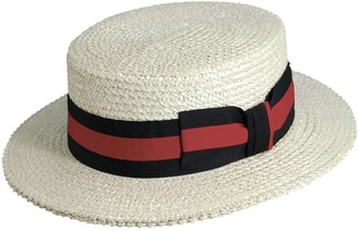 Scala Classico Straw Boater Hat - Men