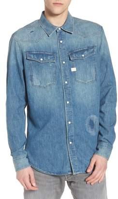 G Star 3301 Graft Denim Shirt