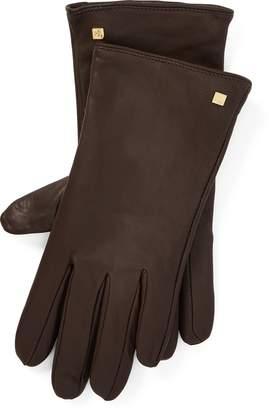 Ralph Lauren Leather Tech Gloves