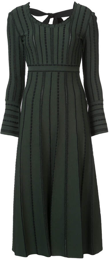 Fendi midi knit dress
