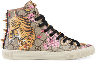 Gucci Bengal high-top sneaker $695 thestylecure.com