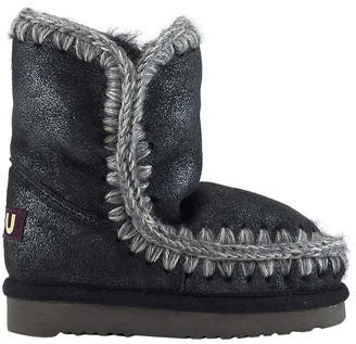 Mou Crocheted Snow Boot