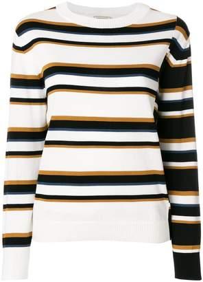 MAISON KITSUNÉ Surf stripe jumper