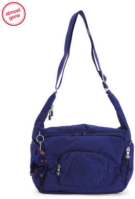 Erica Nylon Multi Pocket Shoulder Bag
