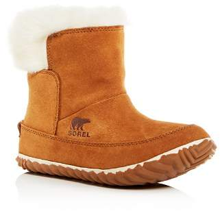 Sorel Women's Out N About Faux-Fur Waterproof Cold-Weather Booties