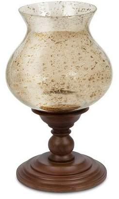 """GG Collection G G Collection Wooden Candle Holder, 17""""T"""