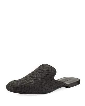 Bottega Veneta Intrecciato Leather Slipper $680 thestylecure.com