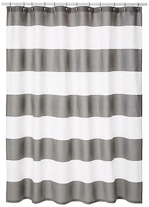 Hampton Shower Curtain Gray