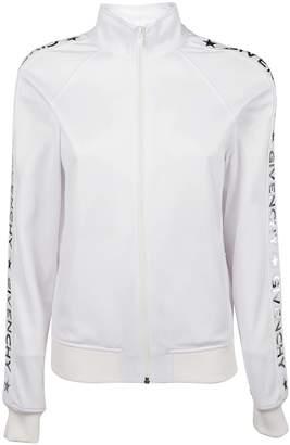 Givenchy Zip Front Logo Track Jacket