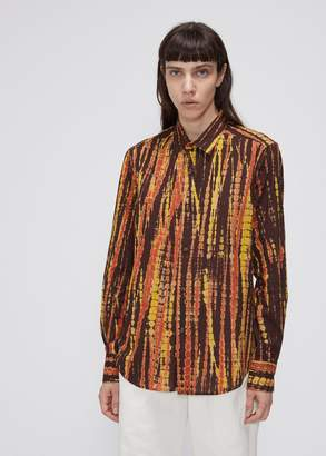Eckhaus Latta Button-Up Shirt