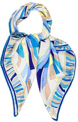 Emilio PucciEmilio Pucci Printed Silk Scarf w/ Tags