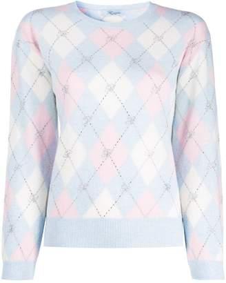 Blumarine geometric-print jumper