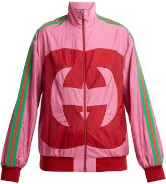 Gucci GG logo nylon jacket