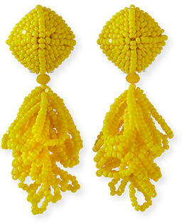 Sachin + Babi Mini Lulu Seed Bead Clip-On Earrings