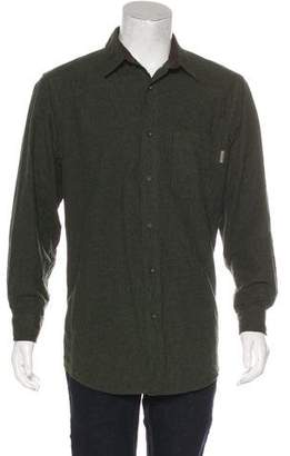 Woolrich Velour Long Sleeve Shirt