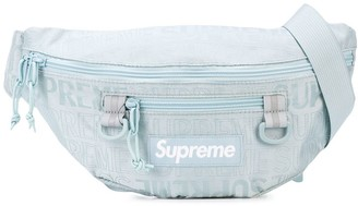Supreme logo patch belt bag