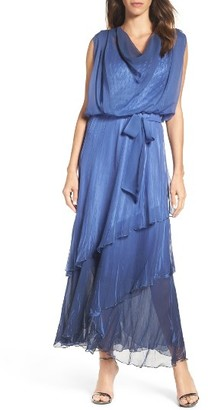 Women's Komarov Chiffon Maxi Dress $480 thestylecure.com