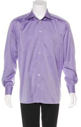 Eton Woven Button-Up Shirt