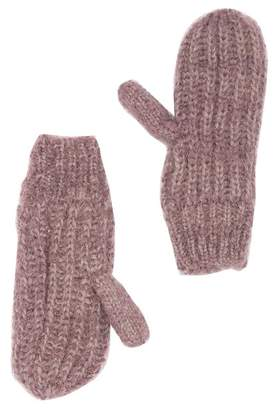Melrose and Market Textured Yarn Mittens