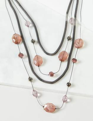 Lane Bryant Beaded Multi-Layer Necklace