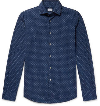 Incotex Slim-Fit Polka-Dot Cotton Shirt