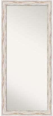 Amanti Art Alexandria Wood 29x65 Floor-Leaner Mirror