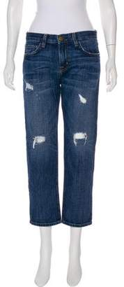 Current/Elliott The Boyfriend Loved Destroy Mid-Rise Jeans
