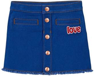 Crazy 8 Love Jean Skirt