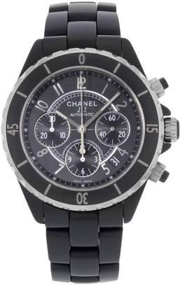Chanel J12 Automatique Black Ceramic Watches