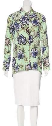 Alice + Olivia Oasis Floral Top