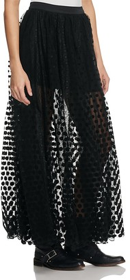 Free People Dreaming Of You Maxi Tutu Skirt $148 thestylecure.com