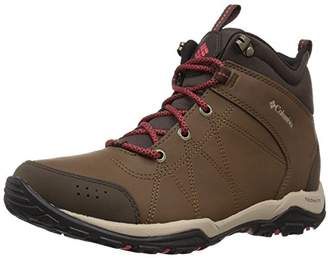 Columbia Women's FIRE Venture MID Leather Waterproof Hiking Boot Autumn Bronze