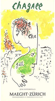 Man & Goat by Marc Chagall