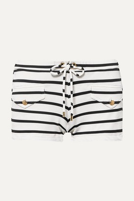Melissa Odabash Tamara Striped Swim Shorts - Navy
