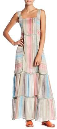 Free People Anika Stripe Maxi Dress