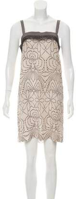 Philosophy di Alberta Ferretti Pattern Print Sleeveless Dress