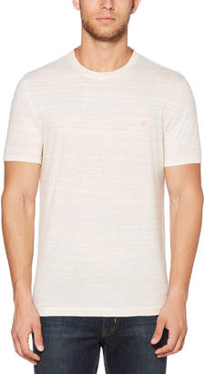 Original Penguin SPACE DYE STRIPE TEE