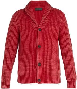 Iris von Arnim Calvin shawl-collar cashmere cardigan