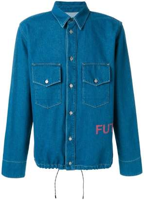 Golden Goose classic fitted denim shirt
