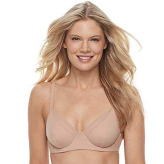Vanity Fair Women's Breathable Luxe Full Coverage Unlined Underwire Bra 75237
