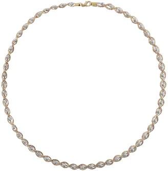 "Arte D'oro Arte d' Oro Diamond-Cut 20"" Omega Necklace, 18K, 22.9g"