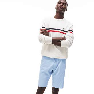 Lacoste Men's Regular Fit Lightweight Cotton 5-Pocket Bermuda Shorts